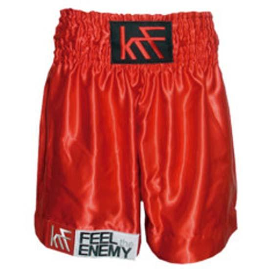 Krf Plain Classic Boxing Short M Red