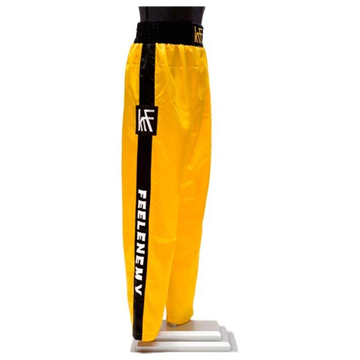 Krf Kick Boxing Long Pants M Yellow