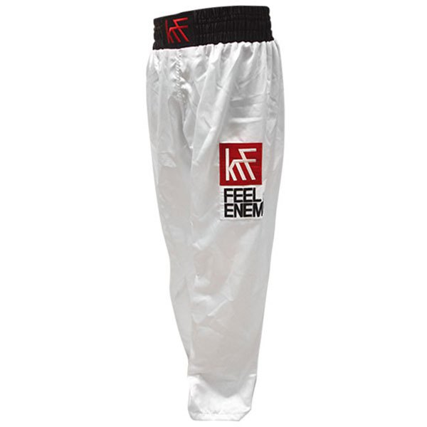 Krf Kick Boxing Long Pants M White