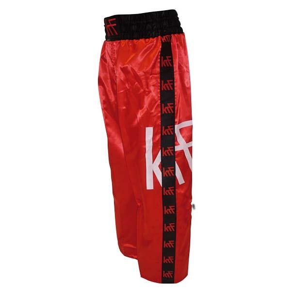 Krf Kick Boxing Long Pants S Red