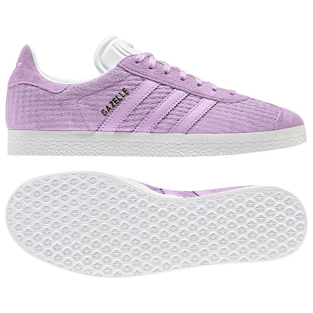 Détails sur Adidas Originals Gazelle Blanc|Violet T61414 Baskets Femme Blanc|Violet , mode