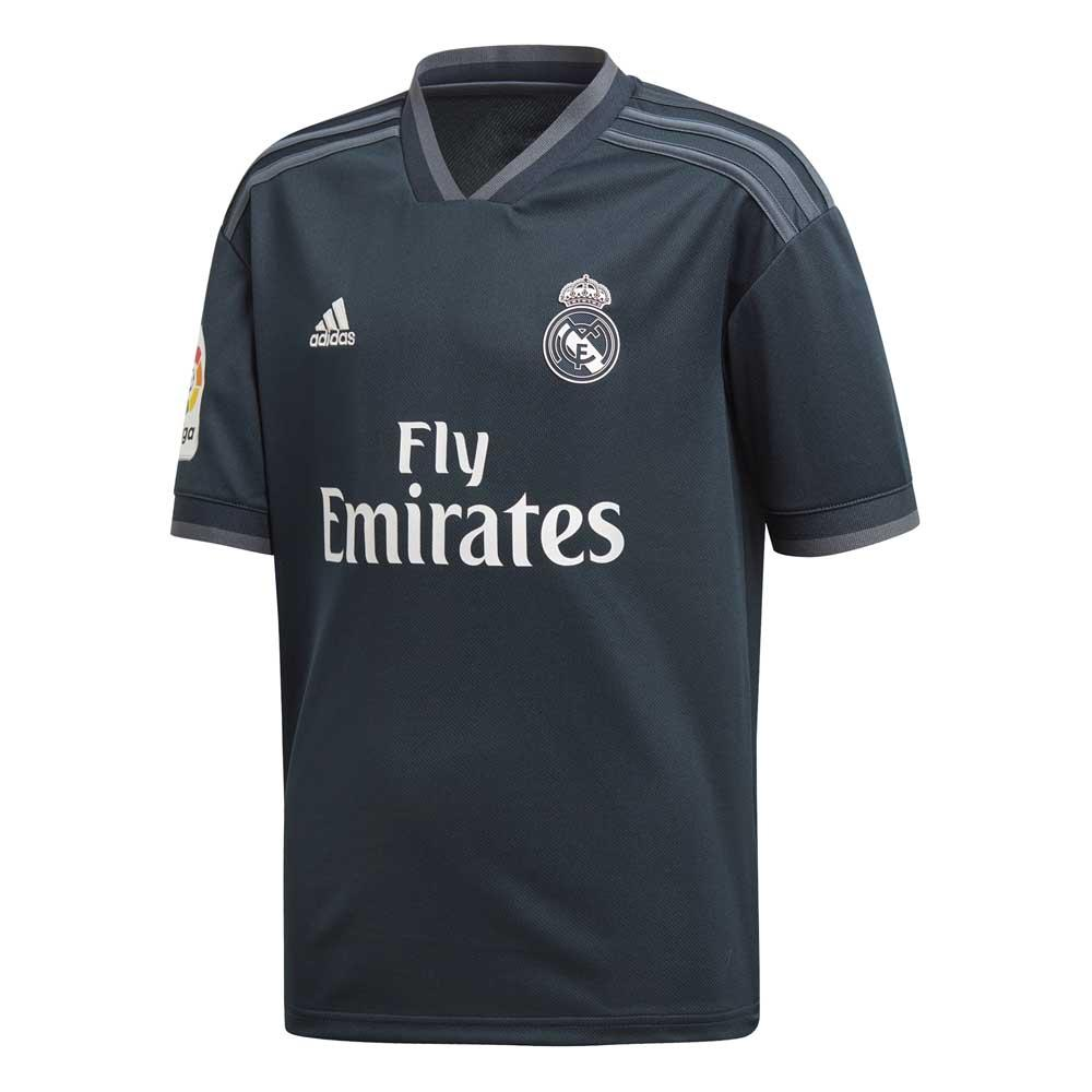 Adidas Real Madrid Extérieur 18/19 Junior 140 Tech Onix / Bold Onix / White