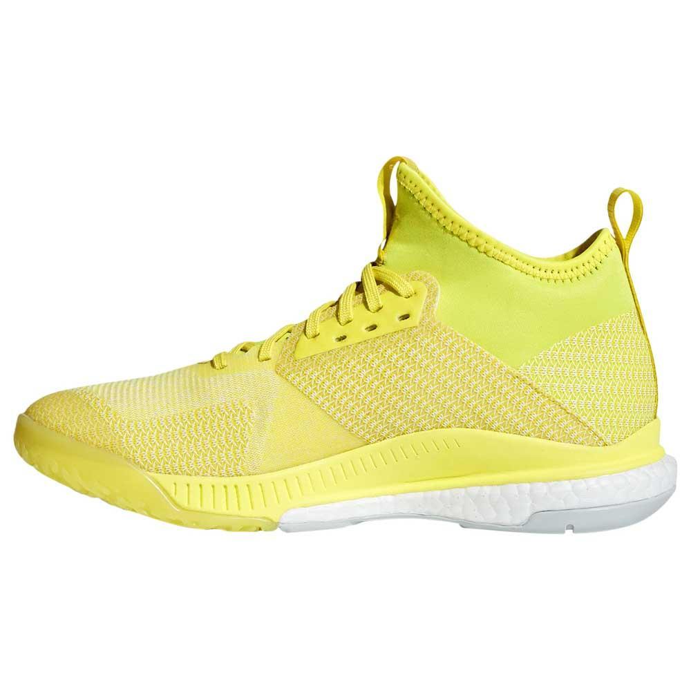 Adidas Crazyflight Crazyflight Crazyflight X 2 Mid Shock giallo   Ash argento   Ftwr bianca adidas | attività di esportazione in linea  | Uomini/Donne Scarpa  24fe6c