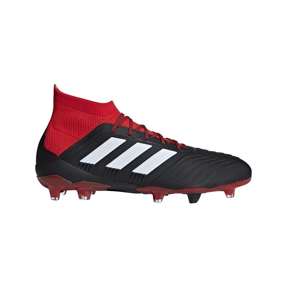 Adidas Predator 18.1 Fg EU 39 1/3 Core Black / Ftwr White / Red