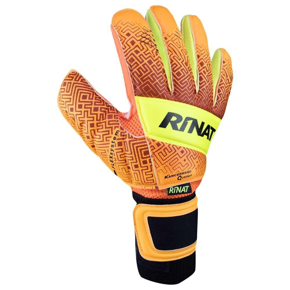 Rinat Kancerbero Quantum Turf Goalkeeper Gloves 4 Orange / Neon Yellow