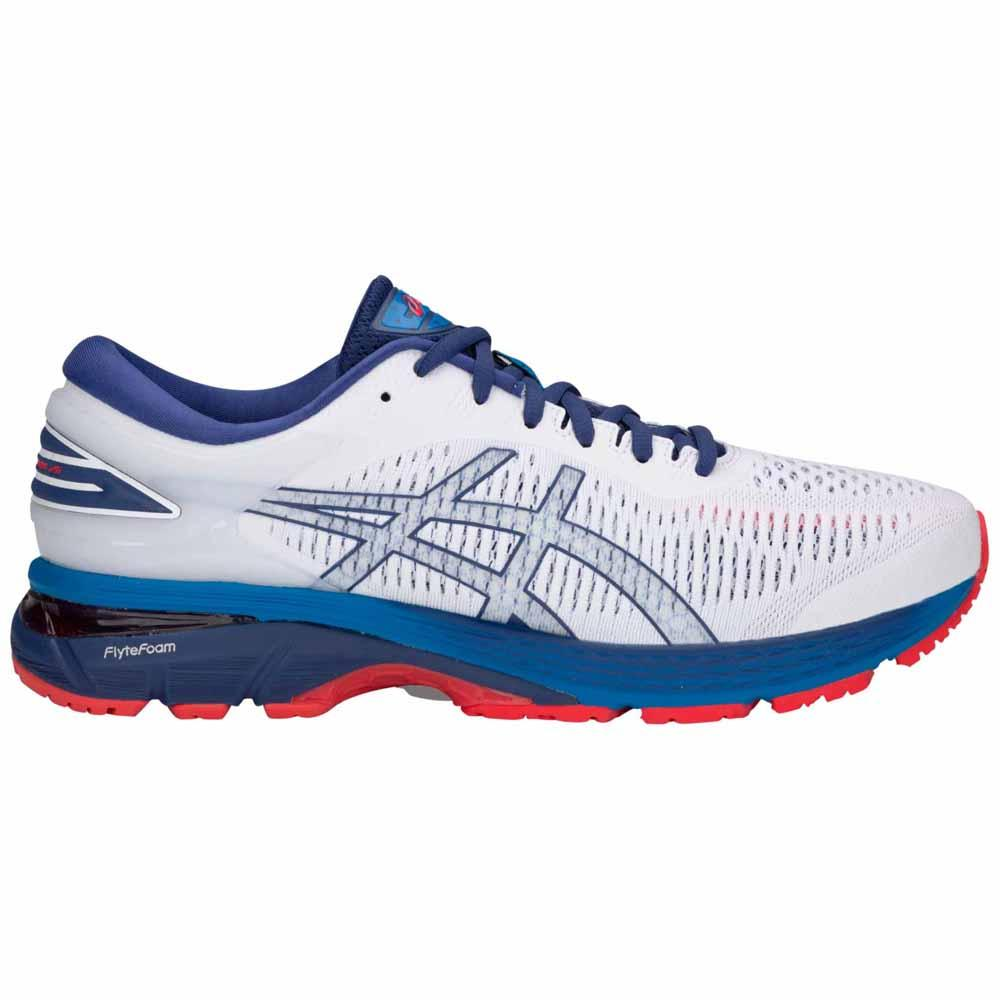 Asics Gel Kayano 25 EU 51 1/2 White / Blue Print