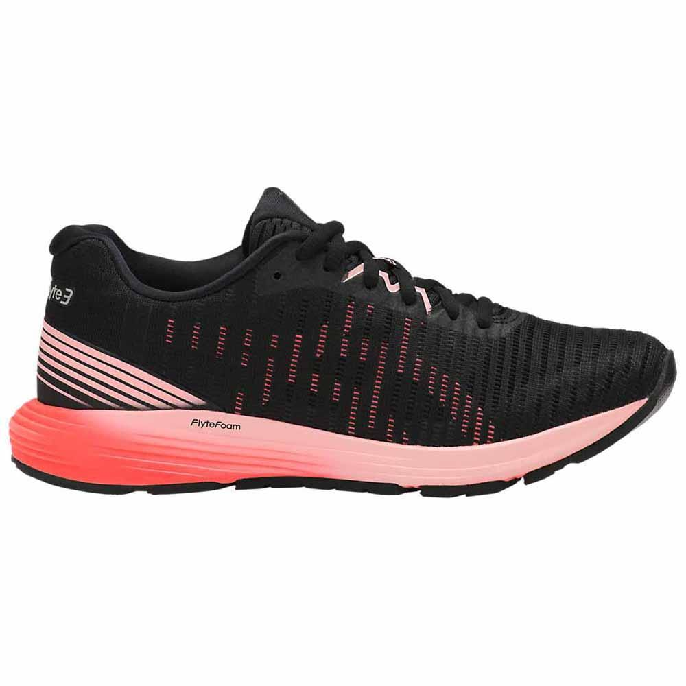 Asics Dynaflyte 3 EU 35 1/2 Black / Flash Coral