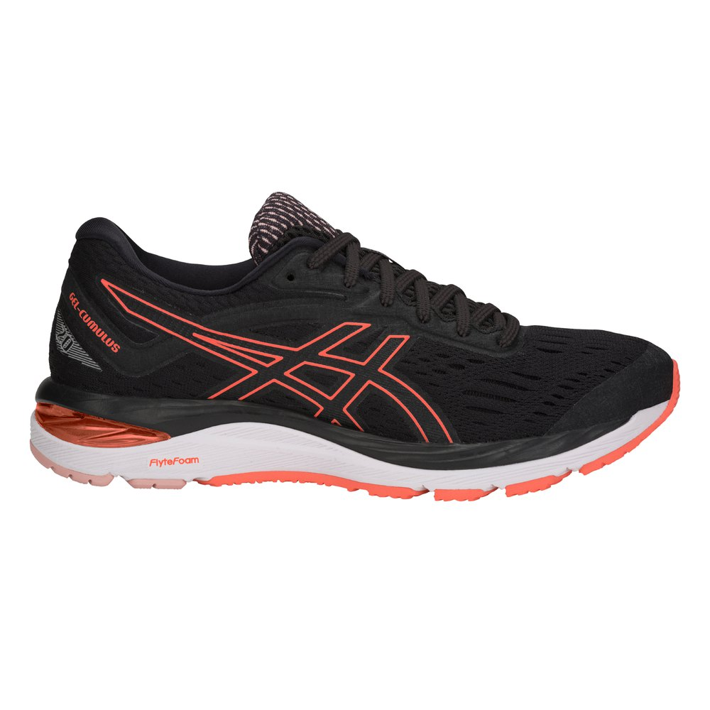 Asics Gel Cumulus 20 EU 37 1/2 Black / Flash Coral