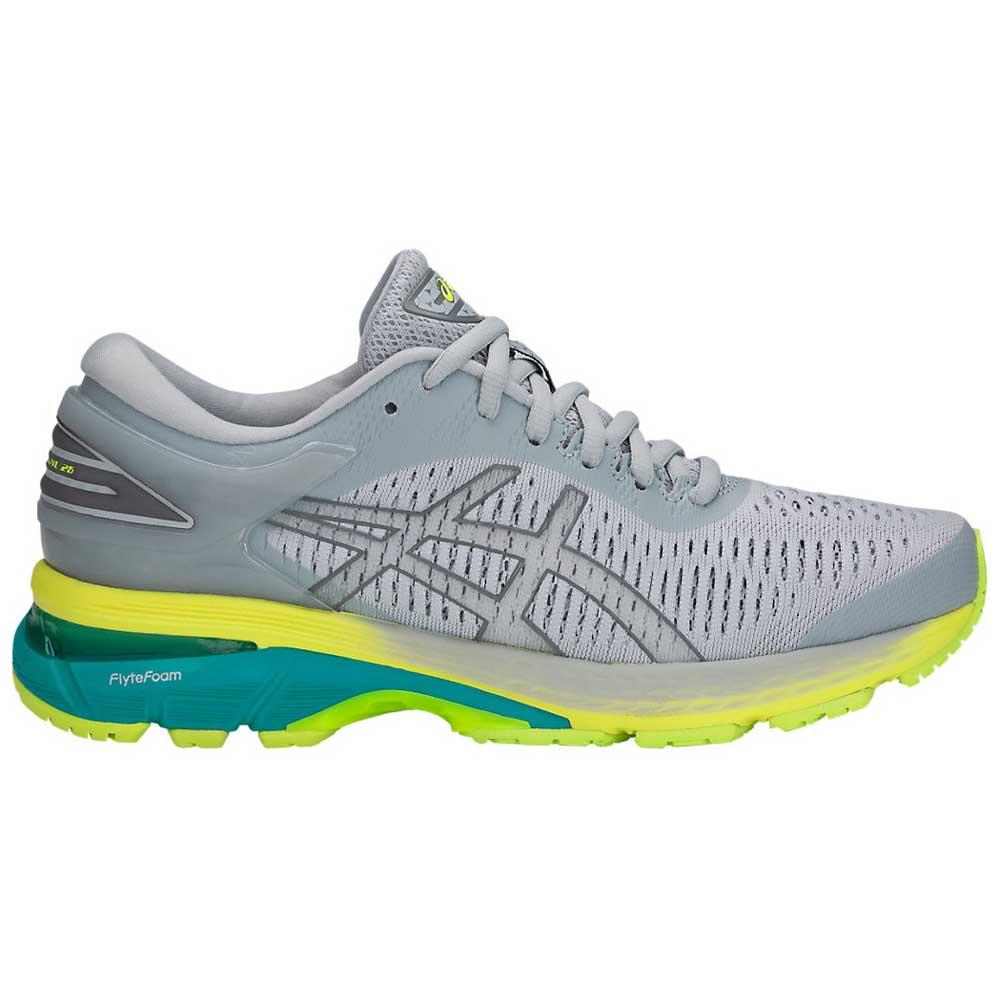 Asics Gel Kayano 25 EU 37 Mid Grey / Carbon / Lime