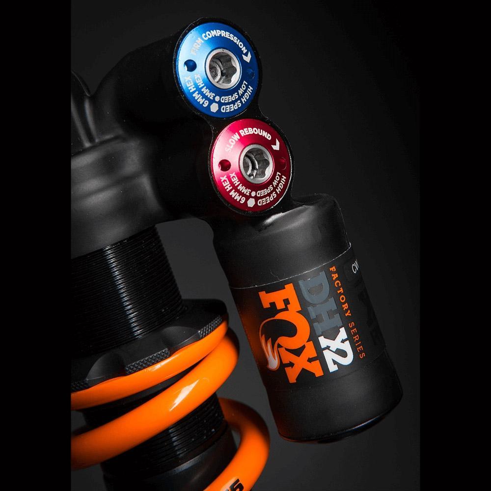 Fox Dhx2 y Tin Imperial Naranja Logo , Horquillas y Dhx2 Amortiguadores Fox , ciclismo ab72f1