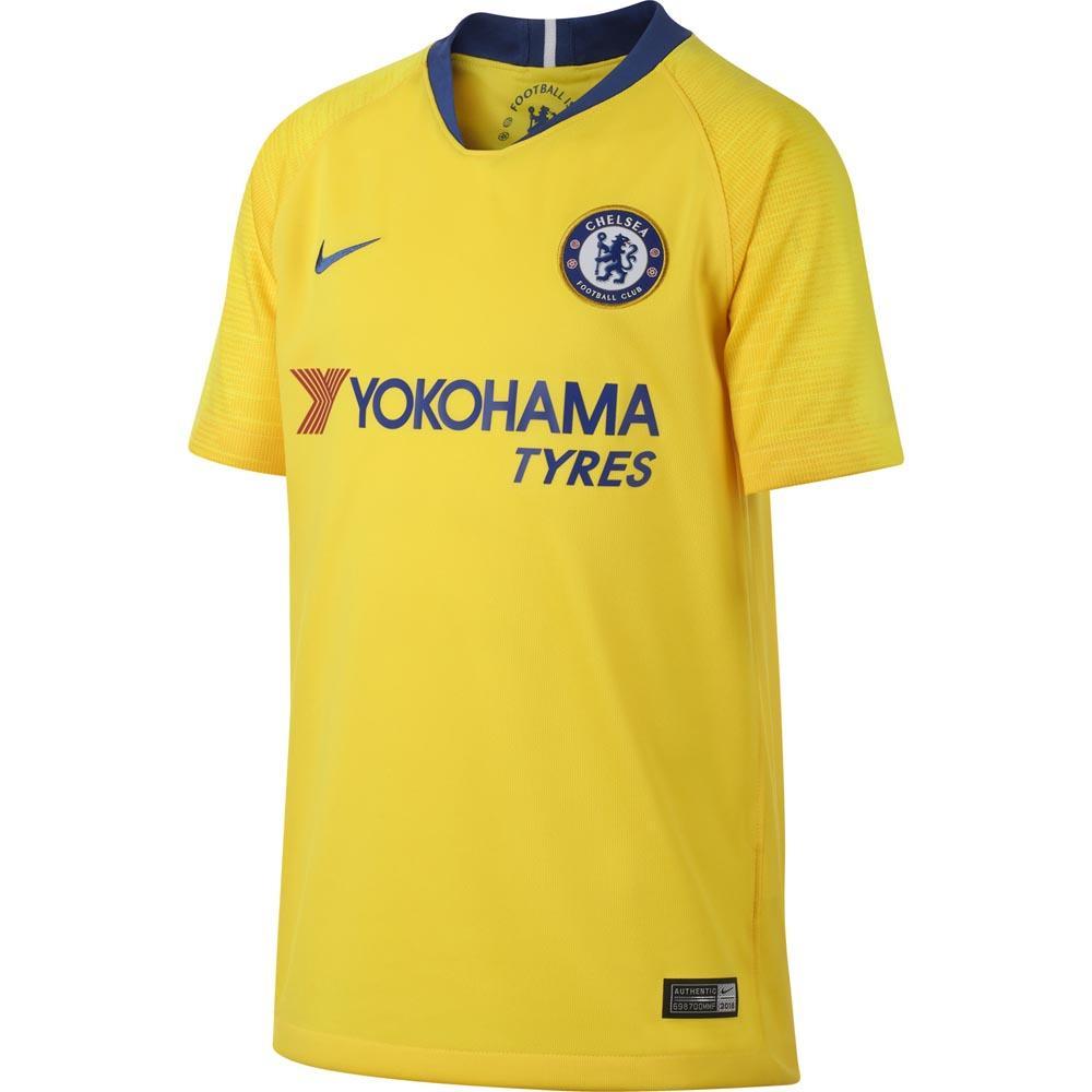 Nike Chelsea Fc Extérieur Breathe Stadium 18/19 Junior M Tour Yellow / Rush Blue