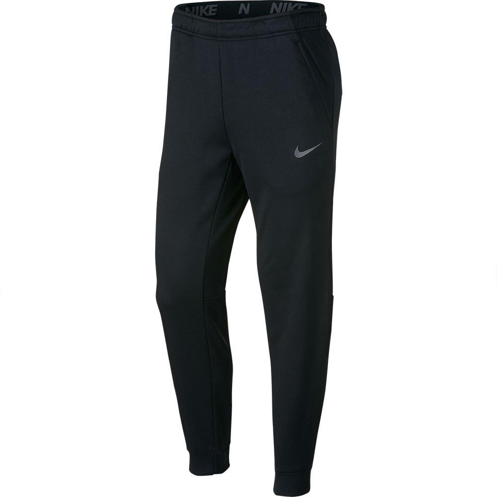 Nike Pantalon Longue Therma Tapered Regular S Black / Metallic Hematite