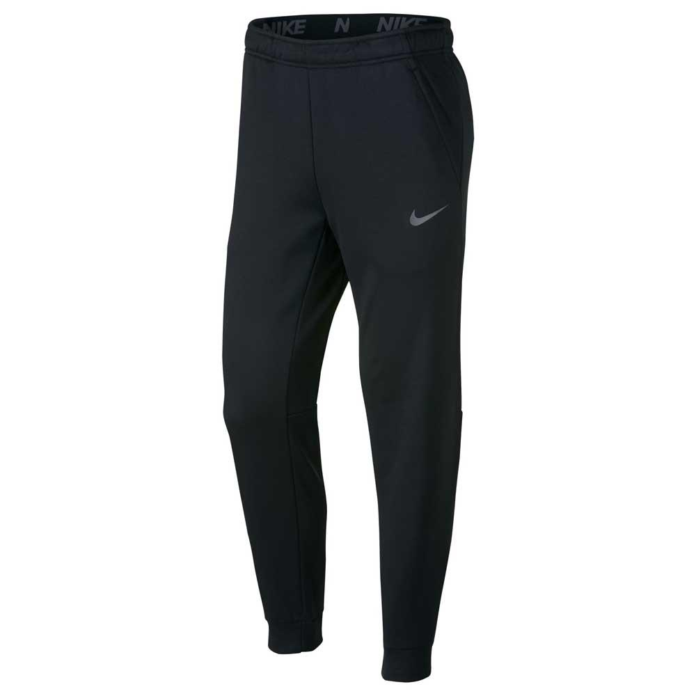 Nike Pantalon Longue Therma Tapered Tall S Black / Metallic Hematite