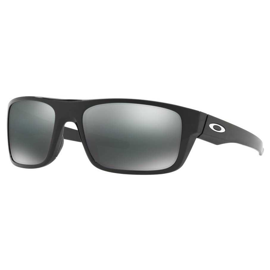 Oakley Drop Point Black Iridium/CAT 3 Polished Black