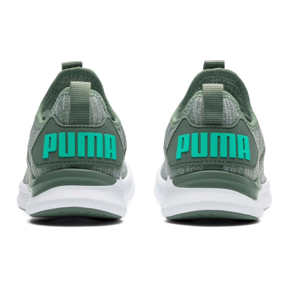 basket puma vert femme