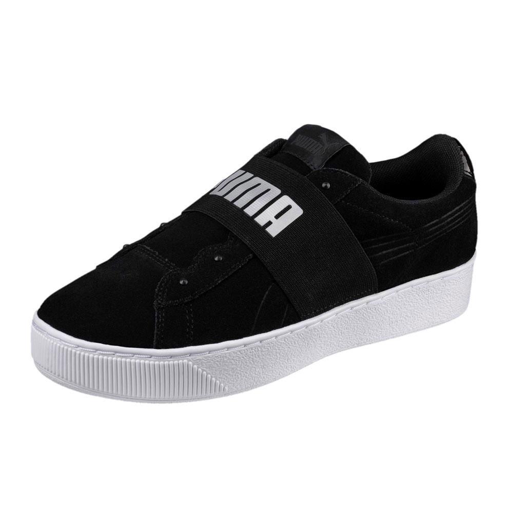 Zapatos promocionales para hombres y mujeres Puma Vikky Platform Elastic Sd