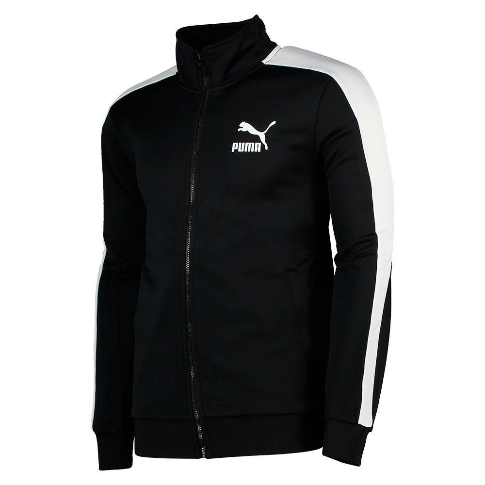 Puma Classics T7 Track Puma Black , Vestes VêteHommes Puma , mode , VêteHommes Vestes ts Homme 068ebb
