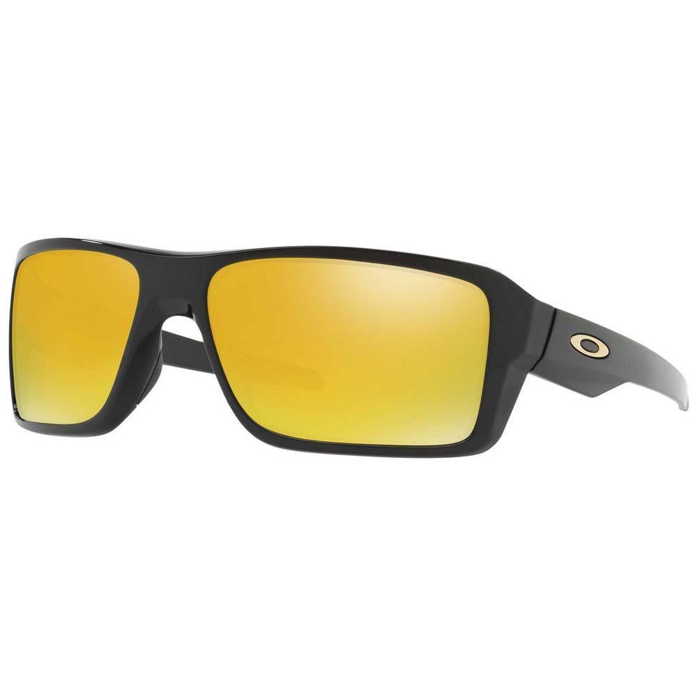 Oakley Double Edge Prizm Black Polarized/CAT 3 Polished Black