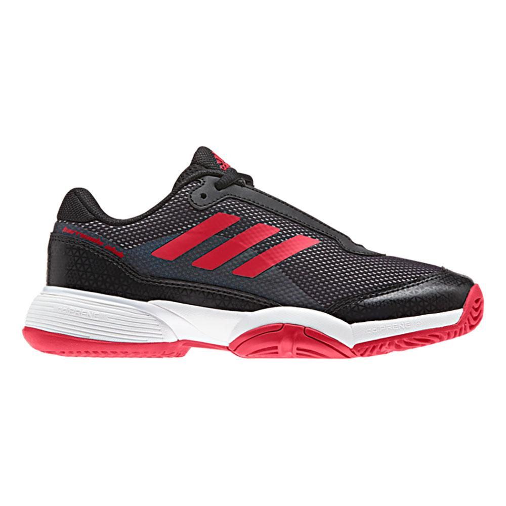 Adidas Barricade Club Xj EU 33 1/2 Core Black / Scarlet / Ftwr White