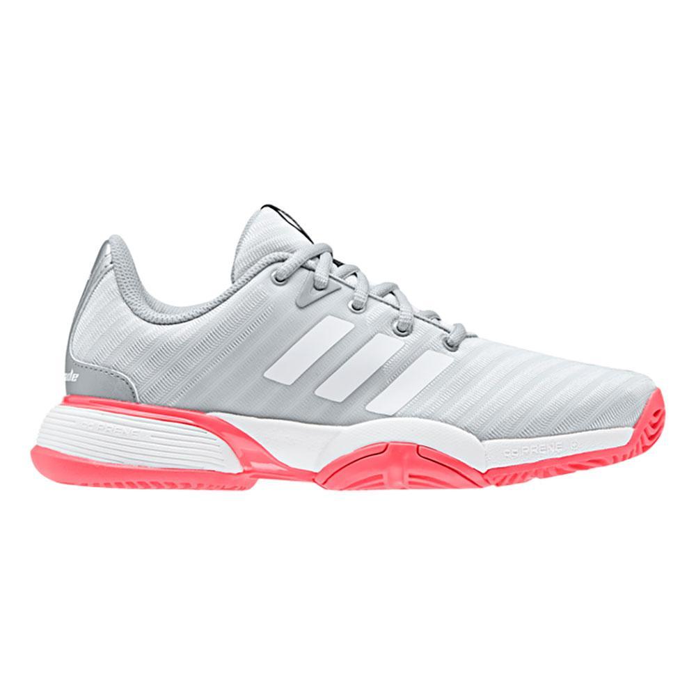 Adidas Chaussures Barricade X Junior EU 33 1/2 Matte Silver / Ftwr White / Flash Red
