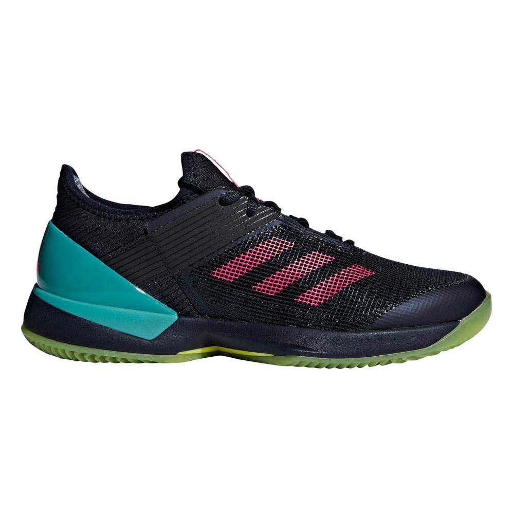 Adidas Adizero Ubersonic 3 Clay EU 38 Legend Ink / Shock Pink / Hi Res Aqua
