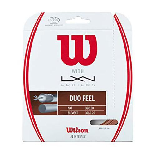 Wilson Duo Feel Element/nxt 1.25mm / 1.30 mm Bronze / Natural