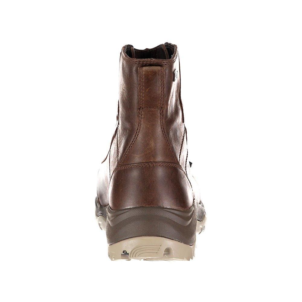 Detalles de Columbia Camden Outdry Leather Chukka Marrón|Gris T20506 Botas Marrón|Gris