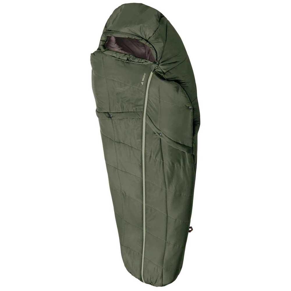 Vaude gamplüt 800 syn vert t71087 sleeping sacs unisex vert vaude, mountain