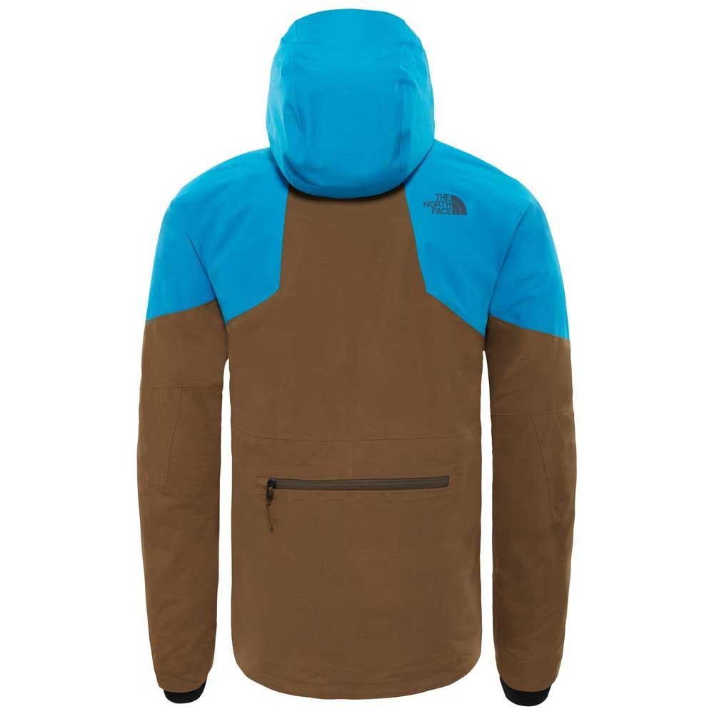 67d2c5a4557e The North Face Powder Guide Jacket Hyper Blue   Beech Green ...