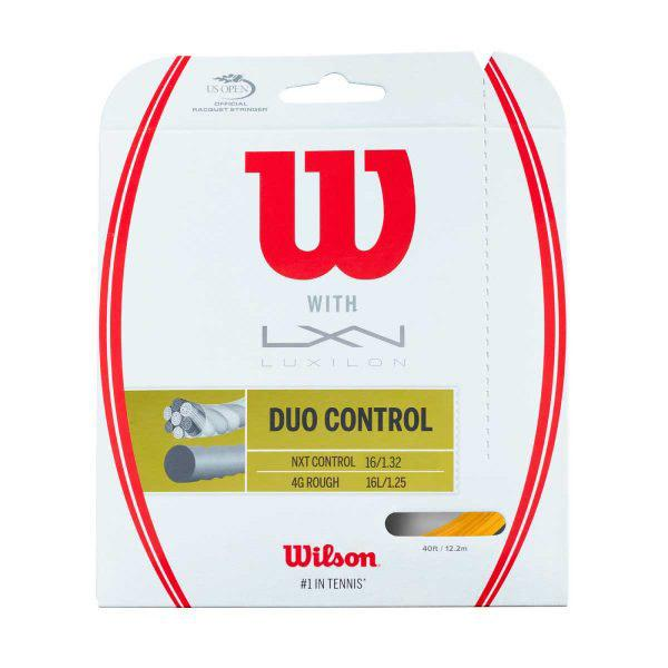 Wilson Duo Control 12 M 1.32 mm / 1.25 mm Gold / Natural