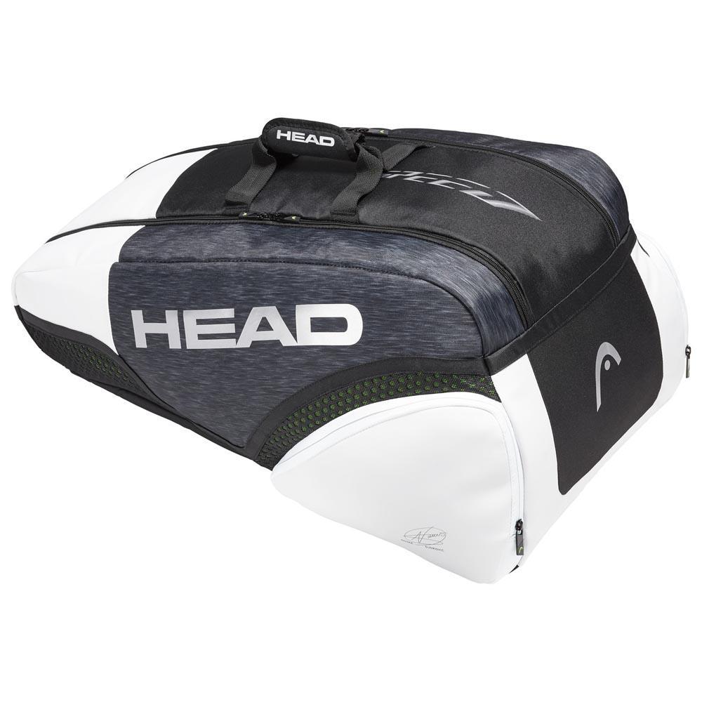 Head Racket Djokovic Supercombi 57l One Size Black / White