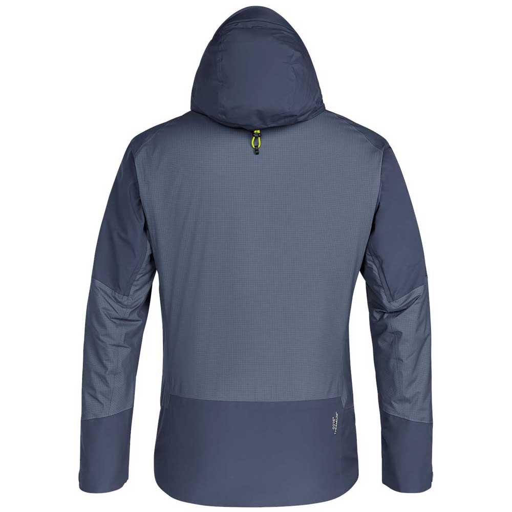 Details zu Salewa Puez Goretex Thermiumtw Clt Jacket Blau T61183 Jacken Mann Blau Salewa