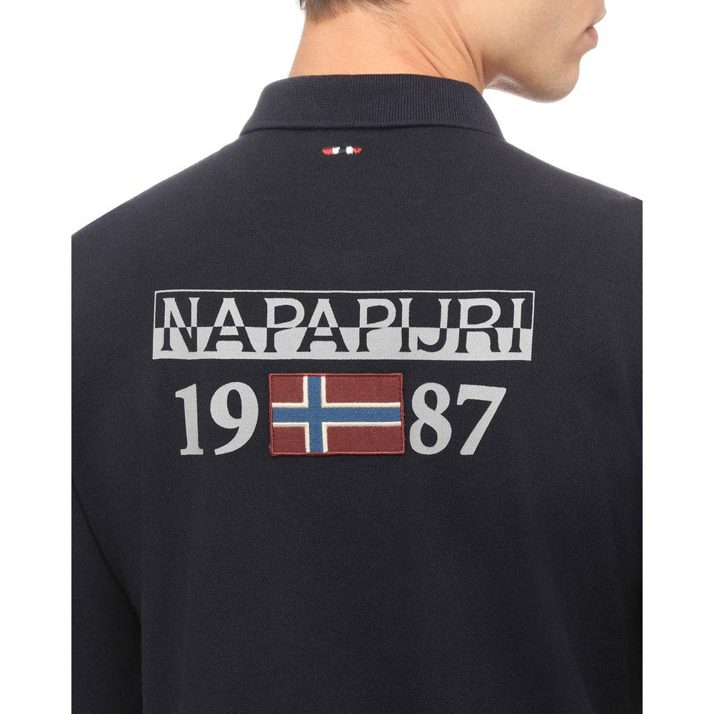Napapijri Erthow Logo Logo Logo Blau Marine , Poloshirts Napapijri , mode , Herrenkleidung cef2ed