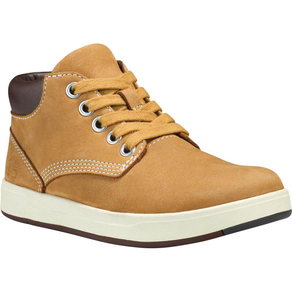 Timberland Davis Square Leather Chukka Toddler Shoes EU 21 Wheat Naturebuck