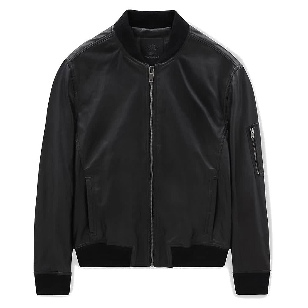Timberland Leather Bomber XL Black