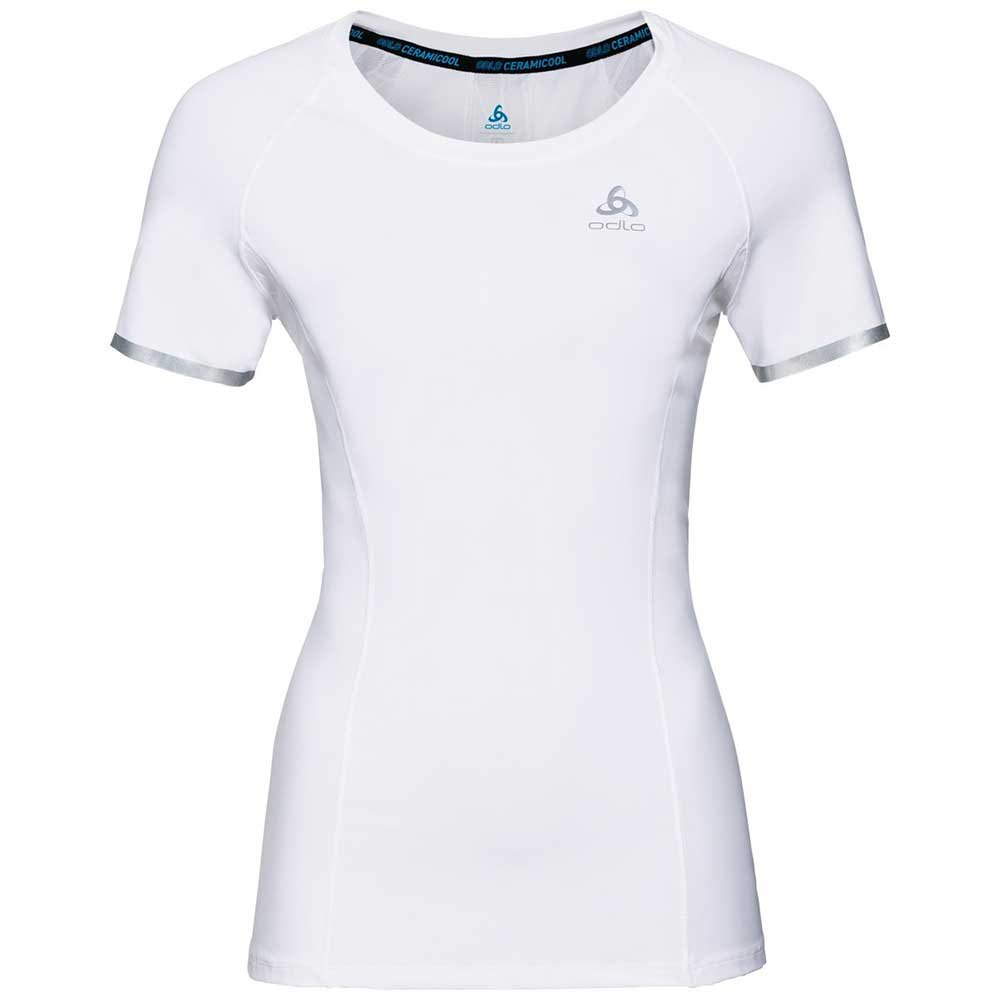Odlo Zeroweight Ceramicool Bl Top XS White