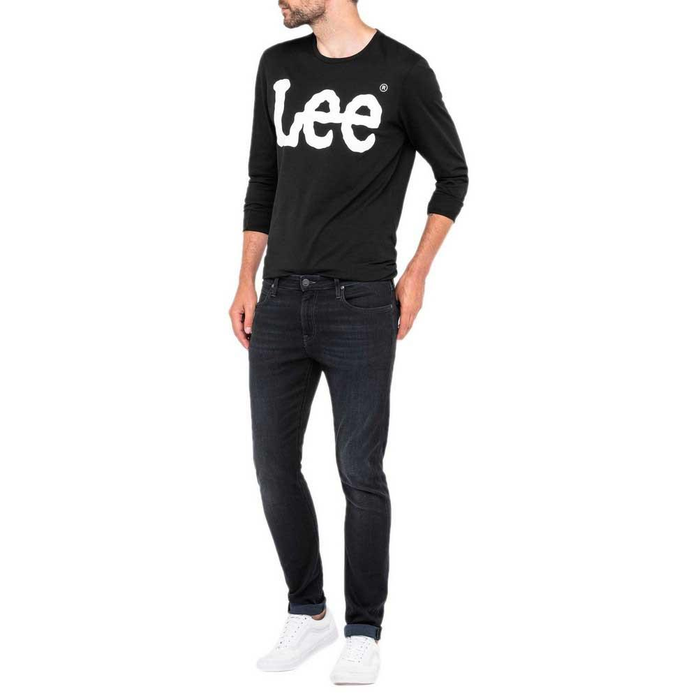 Lee-Malone-Bleu-T71708-Pantalons-Homme-Bleu-Pantalons-Lee-mode miniature 7