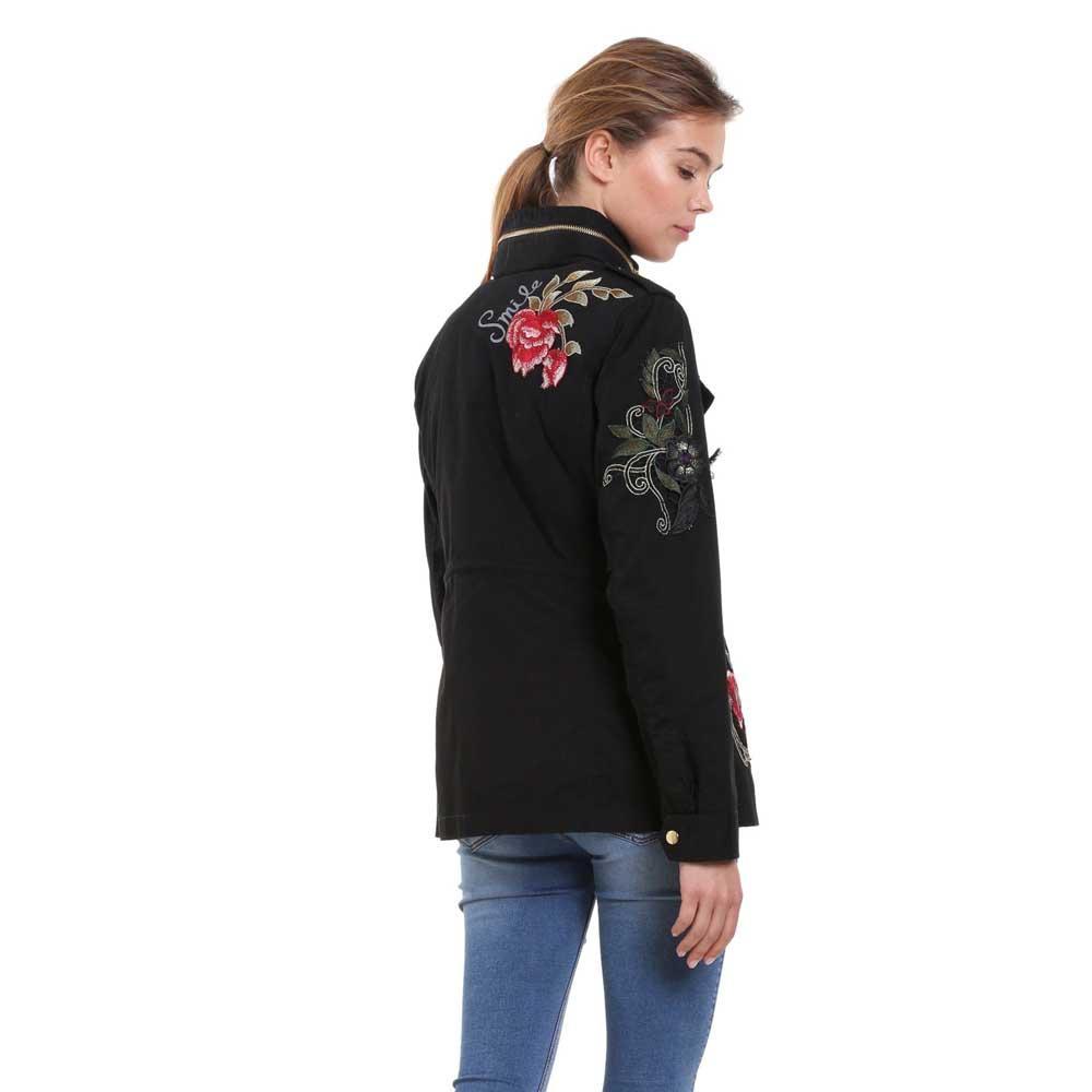 Desigual Clansei nero , Giacche Desigual Desigual Desigual , moda , Abbigliamento donna 6424ba