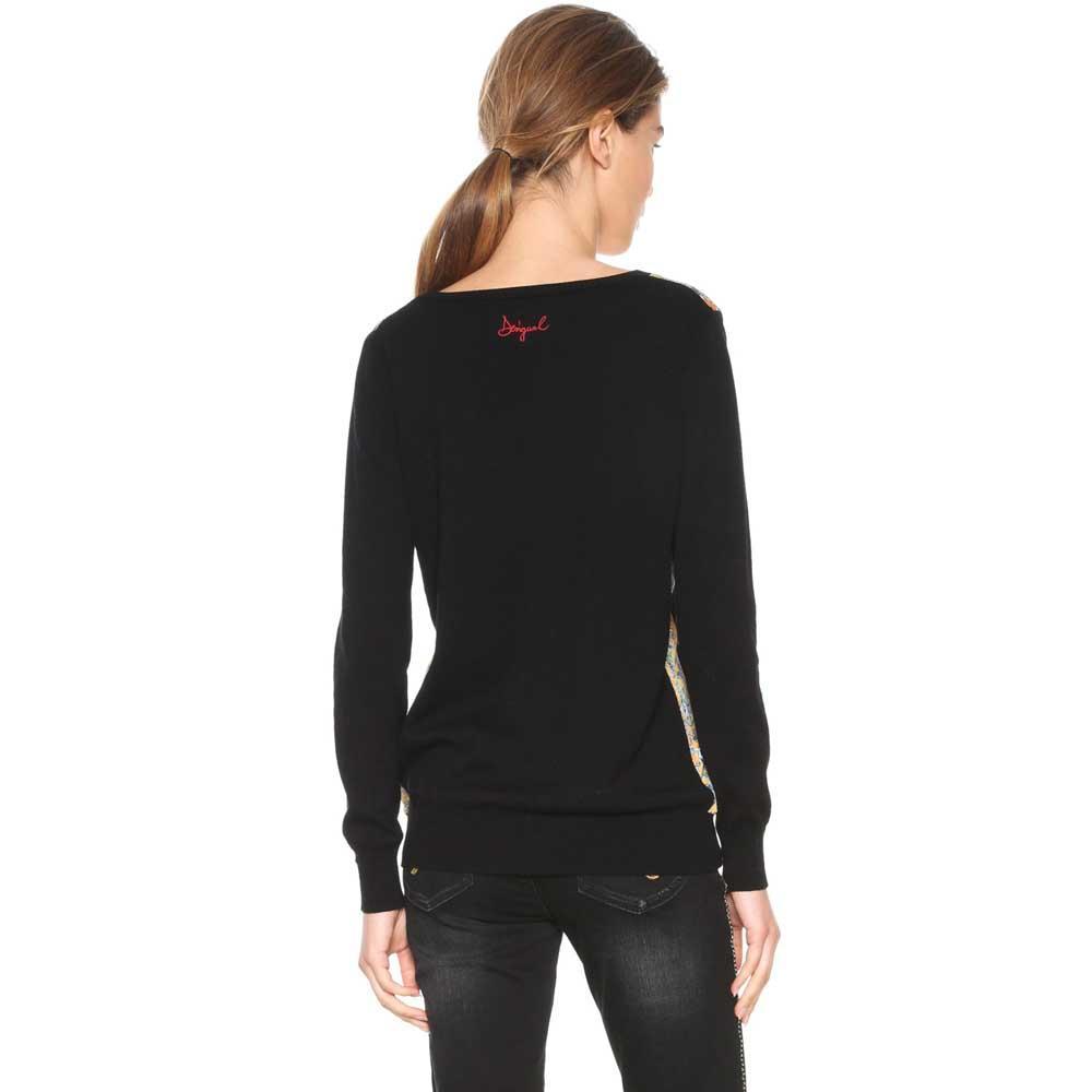Desigual Astrix schwarz  Strickpullover Strickpullover Strickpullover Desigual  mode  Damenkleidung bff0a7