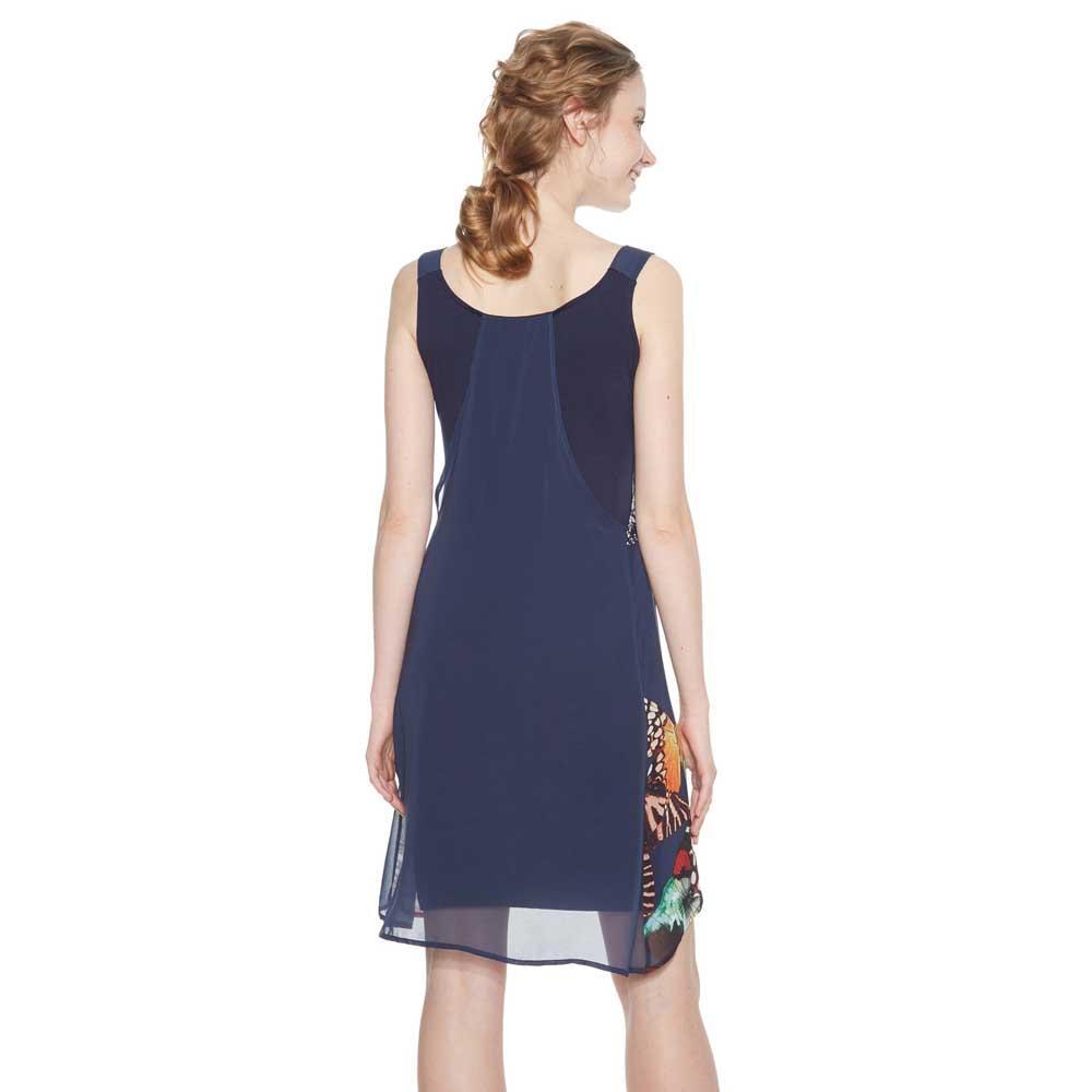 Wyqxnr4fye Butterfly Desigual Robes Bleu Mode Noir Femme Vêtements TKJ3lFc5u1