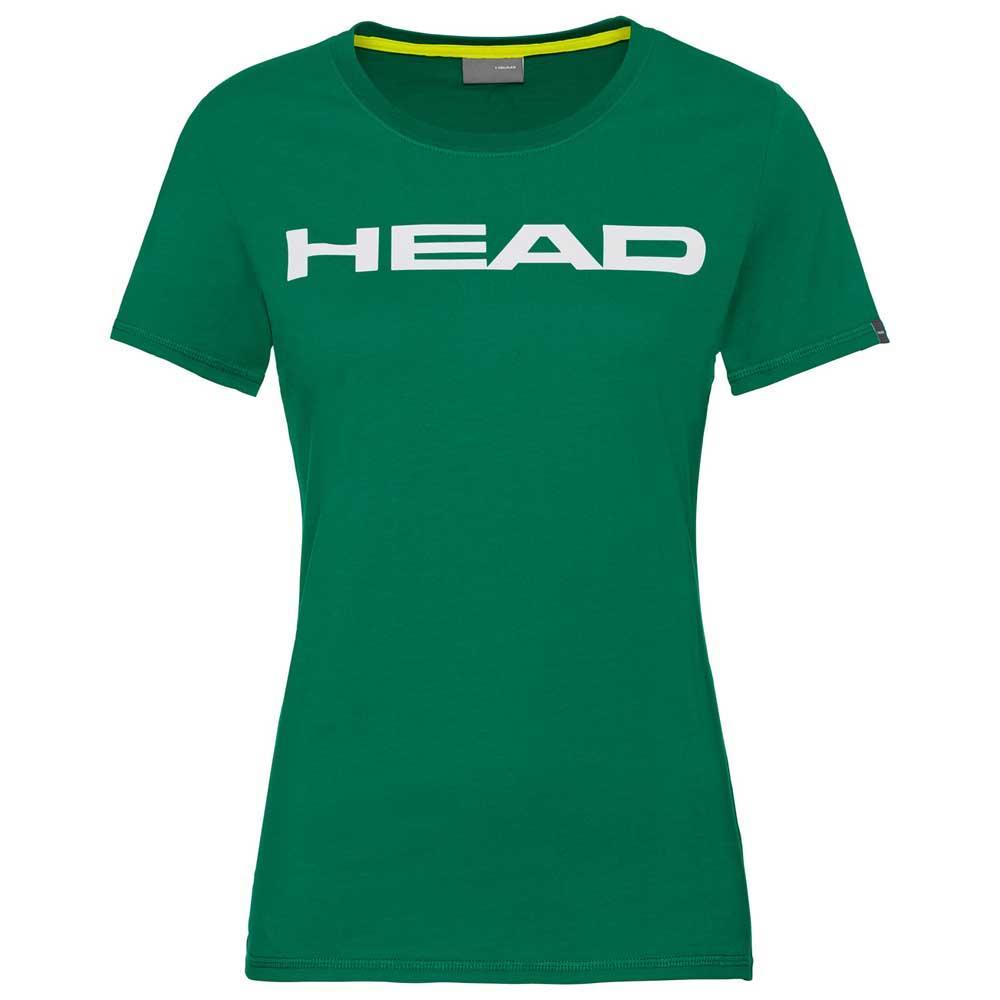 Head Racket T-shirt Manche Courte Club Lucy S Green / White