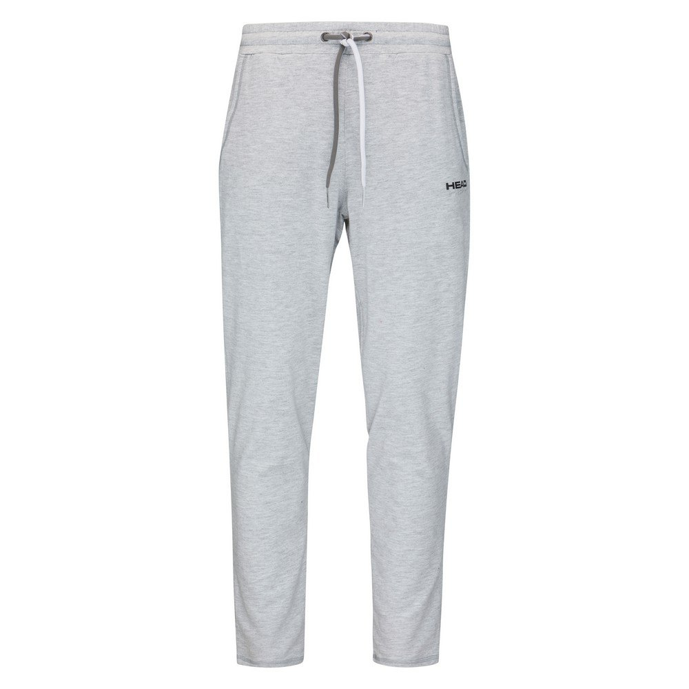 Head Racket Pantalon Longue Club Byron 128 cm Grey Melange / Black