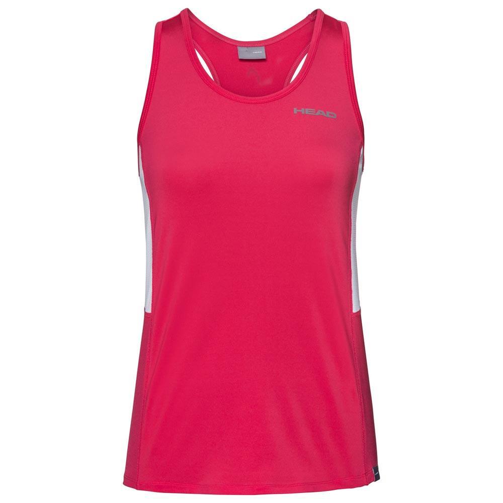 Head Racket T-shirt Sans Manches Club 140 cm Magenta
