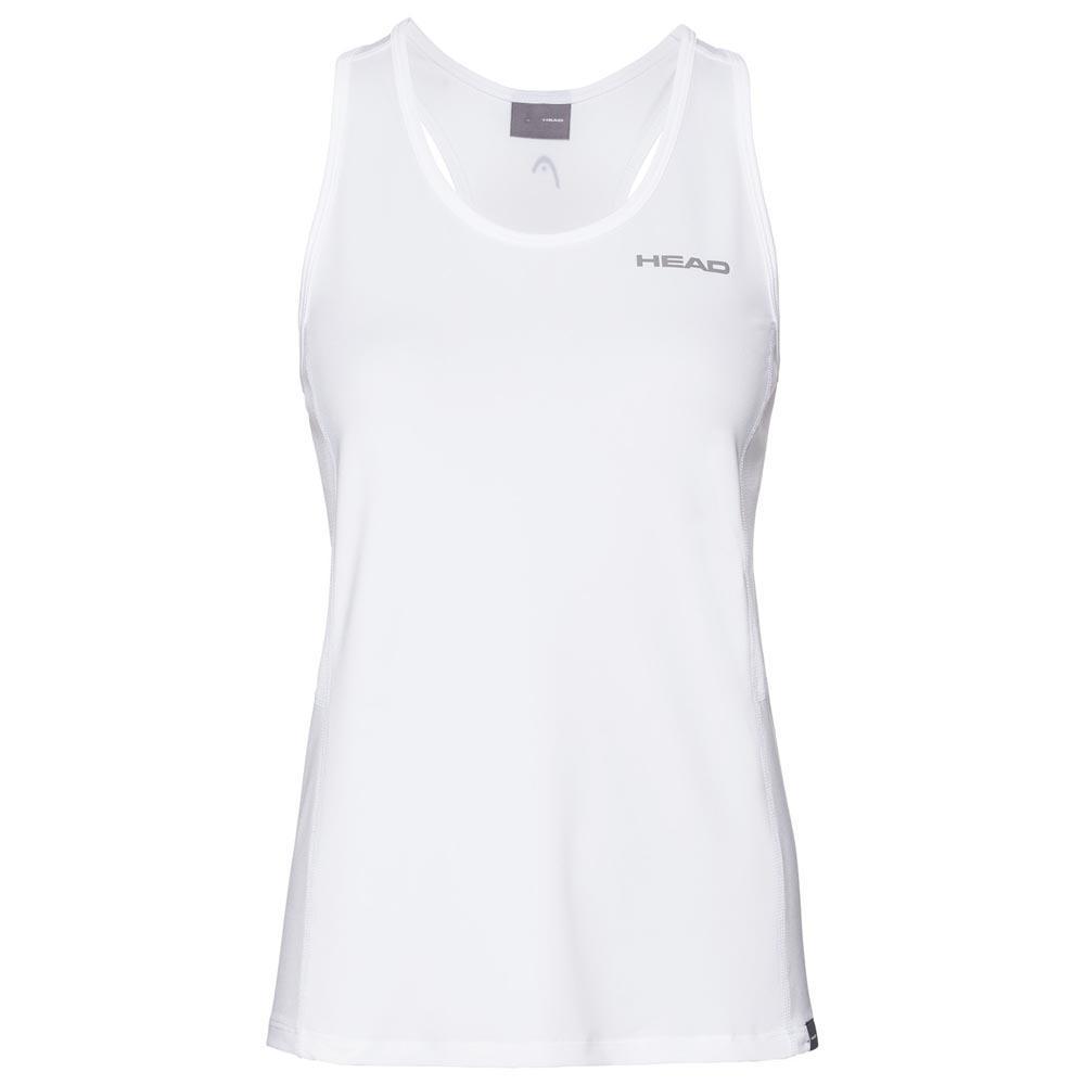 Head Racket T-shirt Sans Manches Club 140 cm White