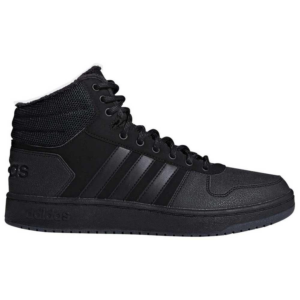 Adidas Hoops 2.0 Mid EU 39 1/3 Core Black / Core Black / Carbon