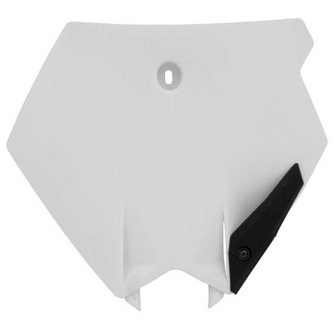 Rtech Front Number Plate Ktm 85 Sx 2003-2012 White , , , Protections Rtech , moto 6be421