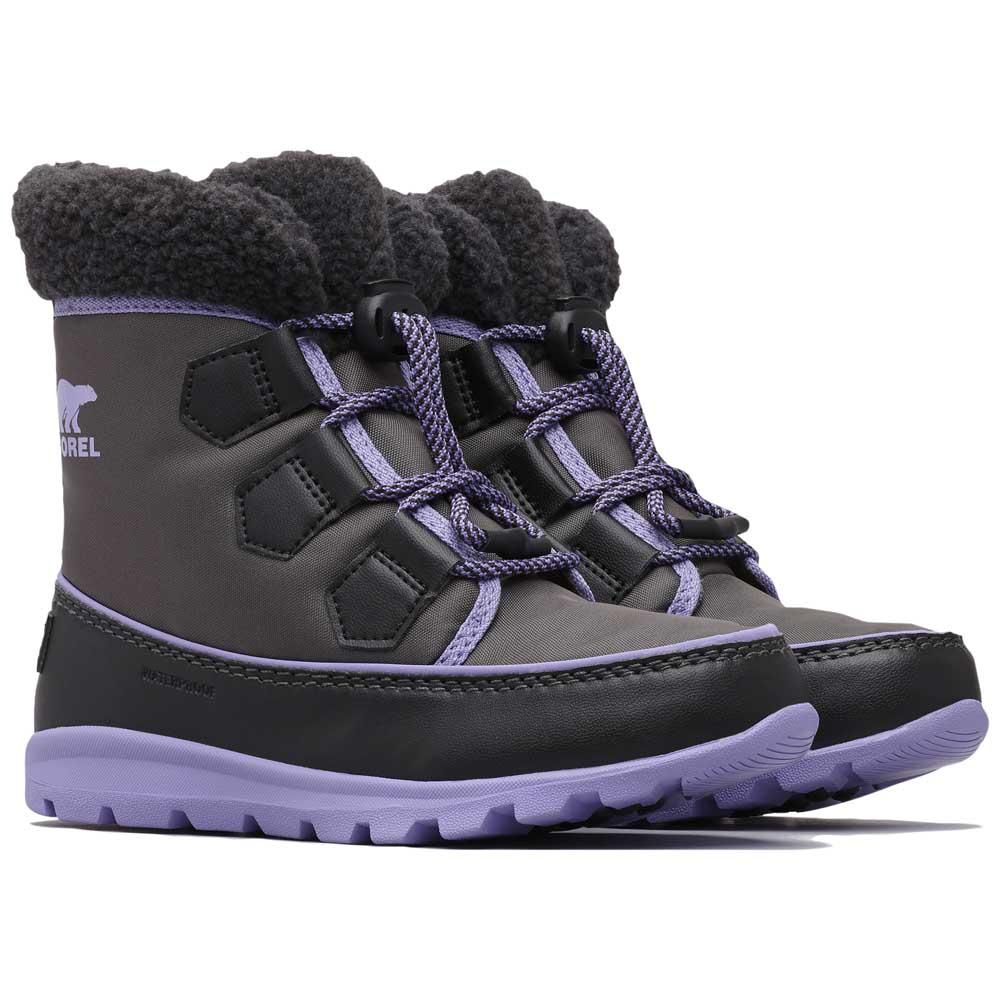 sorel-youth-whitney-carnival-eu-36-dark-grey-paisley-purple