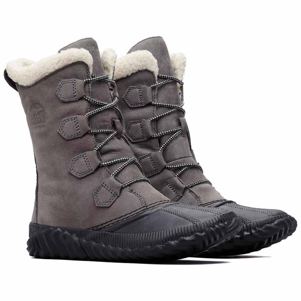 Détails sur Sorel Out N About Plus Tall Gris T05811 Chaussures Après Ski Femme Gris Sorel