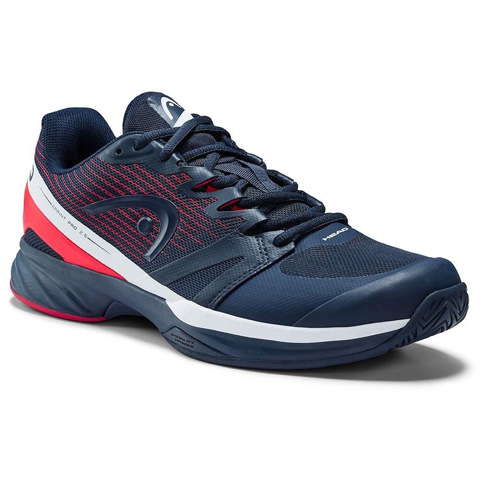 Head Racket Sprint Pro 2.5 EU 46 Dark Blue / Neon Red