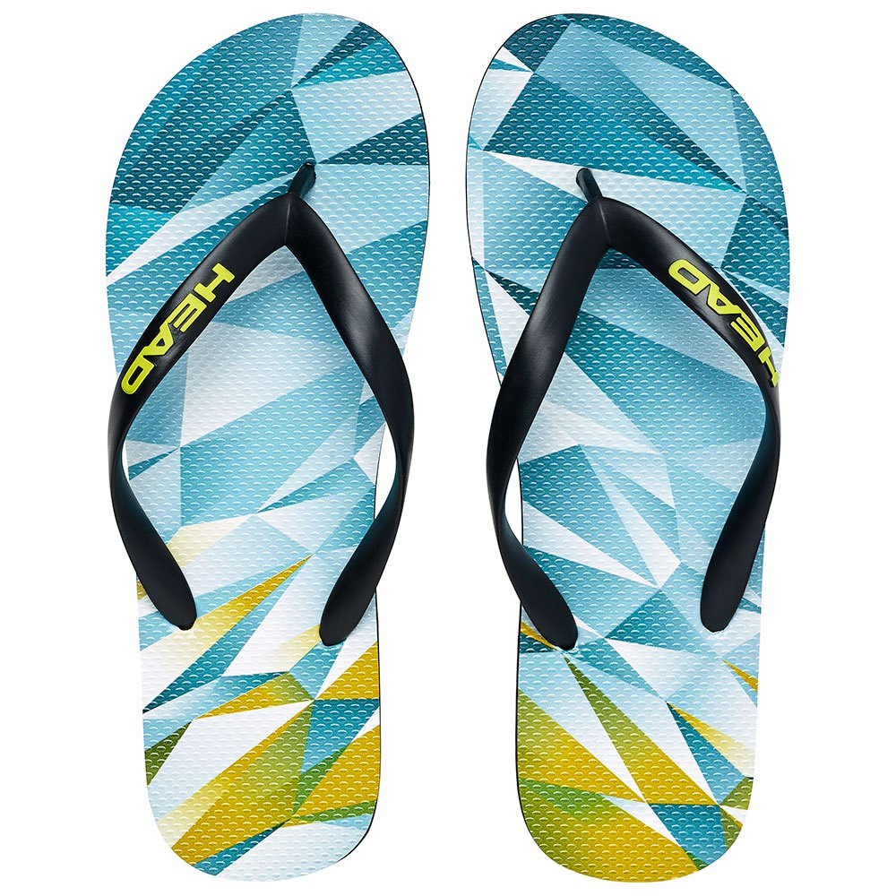 Head Racket Flip Flops EU 43-44 Sky Blue / Yellow